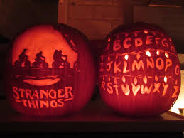 Preserving A Carved Pumpkin by My Fiancé And I Carved Stranger Things Pumpkins Strangerthings