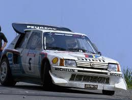 Peugeot 205 T16 Evolution 2 group B 1985 Racing Cars