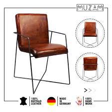 moderner esszimmer stuhl echte leder made in germany