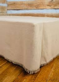 Bed Skirt With Split Corners by Ivory Crochet Twin Full Queen King Bedskirt Cottage Hemstitch