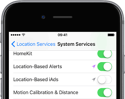 Tip turn off location based ads on iPhone and iPad