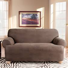 Sure Fit Stretch T Cushion Sofa Slipcover by Furniture Comfortable White Cheap Couch Covers For Traditional