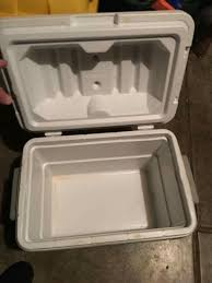 Oberweis Dairy home delivery Coleman cooler It was bought and