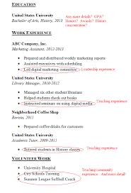 How To Make A Resume With No Education