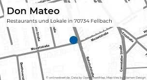 don mateo bahnhofstraße in fellbach restaurants und lokale