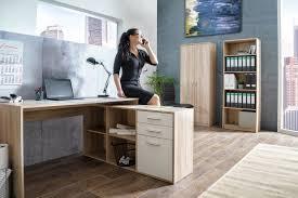 bureau chene clair bureau d angle contemporain chêne clair blanc chester bureau d