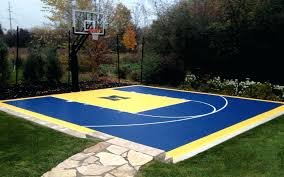 Backyard Basketball Court Lighting Concrete Measurements ... Multisport Backyard Court System Synlawn Photo Gallery Basketball Surfaces Las Vegas Nv Bench At Base Of Court Outside Transformation In The Name Sketball How To Make A Diy Triyaecom Asphalt In Various Design Home Southern California Dimeions Design And Ideas House Bar And Grill College Park Half With Hill