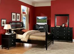 Beauteous Red Bedroom Decoration Design Of Best