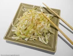 cuisiner le chou blanc en salade salade japonaise au chou blanc végétalien vegan végétalienne