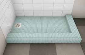 tile ready shower pan 36 x 60 size of enigma fully frameless