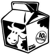 Milk Carton Clip Art 6474