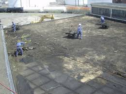 Removing Asbestos Floor Tiles Illinois by Large Town Buildings