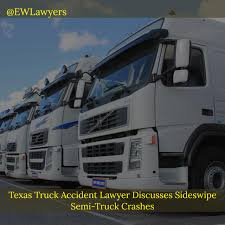 Texas Truck Accident Lawyer Discusses Sideswipe Semi-Truck Crashes ... Fort Worth Personal Injury Lawyer Car Accident Attorney In Truck Discusses Fatal Russian And Bus Crash Tx Todd R Durham Law Firm Wrongful Death Cleburne Maclean Law Firm Us Route 67 Tractor Trailer Bothell Wa 8884106938 Https Inrstate 20 Common Causes Of Dallas Semi Accidents How To Stay Safe Bailey Galyen Texas Books Reports Free Legal Guides Anderson Car Accident Attorney County Blog