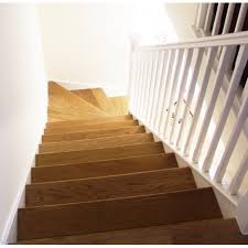Floor Brown Oak Wood Treads For Stair L Shaped Stair Design Then ... Are You Looking For A New Look Your Home But Dont Know Where Replace Banister Neauiccom Replacing Half Wall With Wrought Iron Balusters Angela East Remodelaholic Stair Renovation Using Existing Newel Fresh Best Railing Replacement 16843 Heath Stairworks Servicescomplete Removal Of Old Railing Staircase Remodel From Mc Trim Removal Carpet Home Design By Larizza Chaing Your Wood To On Fancy Stunning Styles 556