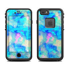 Lifeproof iPhone 6 Fre Case Skin Electrify Ice Blue by Amy Sia
