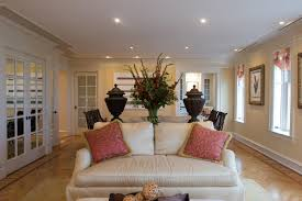 living room outstanding recessed lighting design living room