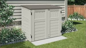 Suncast Patio Storage Box by 34 Cu Ft Horizontal Shed Suncast Corporation