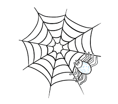 How to Draw How to Draw a Spider Web with Spider in a Few Easy
