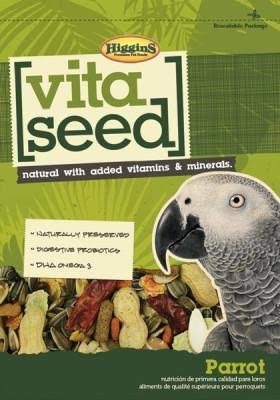 Higgins Vita Seed Parrot Food for Birds - 25lbs