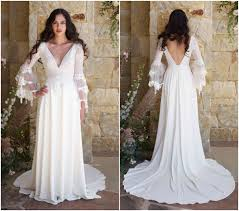 Claire Pettibone Romantique Spring 2018 Collection Rustic Wedding DressesRustic