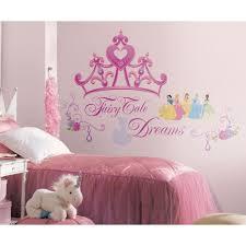Fathead Princess Wall Decor by Disney Princess Crown 18pc Wall Accent Sticker Set Obedding Com