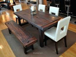 Modern Dining Room Table Sets Rustic Country Style
