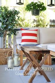 Pottery Barn Throw Pillow Inserts by Diy Pillow Case Cover Inspired By Pottery Barn