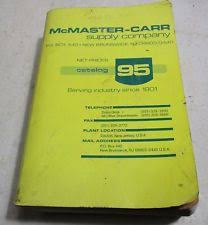 McMaster Carr Supply Co Catalog 95