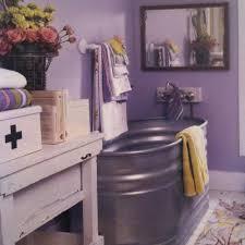 galvanized water trough bathtub cabin fervor livestock b tank