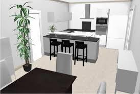 plan cuisine 3d implantation cuisine plan 3d le de seb