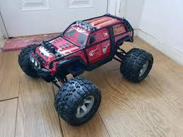100 Summit Rc Truck Traxxas 110 Brushless Upgraded Spares Castle Car