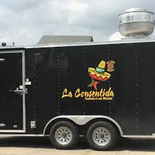 100 San Antonio Food Truck La Consentida Foodtruck Trailer S