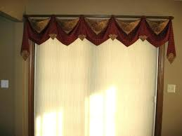 Yellow Window Valance Curtains With Dining
