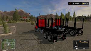 KW T800 LOG TRUCK PACK V1.0 Mod - Farming Simulator 2017 / 17 LS Mod Offroad Log Transporter Hill Climb Cargo Truck Free Download Of Wooden Toy Logging Toys For Boys Popular Happy Go Ducky Forest Simulator Games Android Gameplay A Free Driving For Wood And Timber Grand Theft Auto 5 Logs Trailer Hd Youtube Classic 3d Apk Download Simulation Game Tipper Kraz 6510 V120 Farming Simulator 2017 Fs Ls Mod Peterbilt 351 Ats 15 Mods American Truck Pro 18 Wheeler