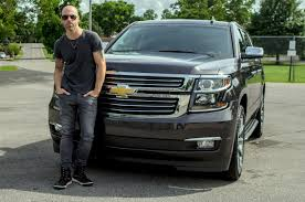 100 Suburban Truck Driving School Celebrity Drive Chris Daughtry Is A Chevy Dad MotorTrend
