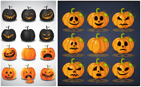 Scary Pumpkin Faces Templates by Templates Vector Graphics Blog Page 4