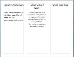 A4 Tri Fold Brochure Word Template Bi Free Lovely Ninja Of Trifold