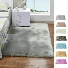 schlafzimmer kunstfell teppich fellimitat fellteppich