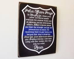 Thin Blue Line Shield Police ficer Prayer Challenge Coin PC