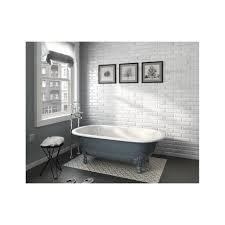 equipe metro carrara gloss 7 5cm x 30cm wall tile marble effect