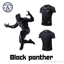 3d Print Black Color Panther Cloth Shirt Summer T Shirts For Men Printed Exquisite The Avengers Design Sweatshirt Wholesale Cheap Tshirts Cool