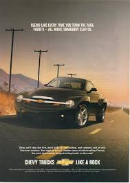100 Convertible Chevy Truck Amazoncom Magazine Print Ad 2003 SSR Super Sport Roadster