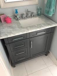 Home Decorators Collection Home Depot Vanity by Patmore Mocha Glaze 37 In Undermount Single Sink Bathroom Vanity