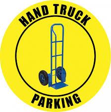 100 Truck Sign Hand Parking Floor Creative Safety Supply