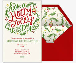 Ugly Sweater Party Holly Jolly Invitation