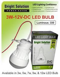 12v dc led bulb 3w indoor lights lighting accessories