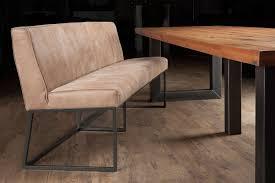 sitzbank 4 sitzer leder natur bänke stühle co wohn