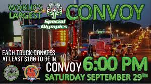 Convoy Map And Schedule Of Events