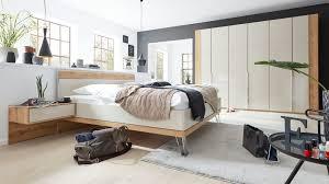 interliving schlafzimmer serie 1017 komplettzimmer 001 bianco eichefarbene chagnerfarbene oberflächen liegefläch