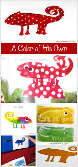 Preschool Activities Color Changing Chameleon For A Of His Own Kids Book